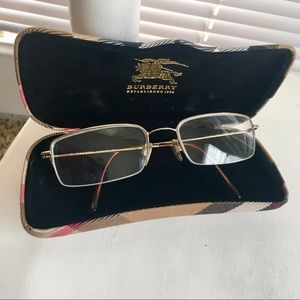 Burberry Eyeglasses with Case Included | Authentic